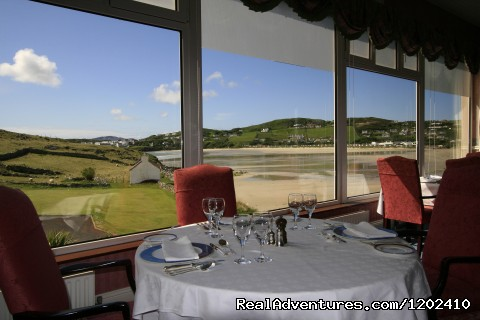 View from our Vardon Restaurant - Rosapenna Hotel and Golf Resort
