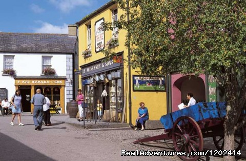 Village Street, Bunratty Folk Park  - Bunratty Castle & Folk Park