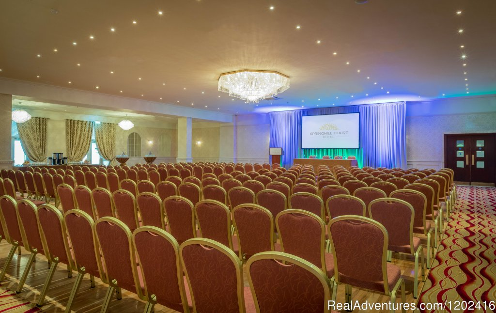Large Conference, Springhill Court Hotel | Image #10/19 | Springhill Court Hotel, Conference, Leisure & Spa