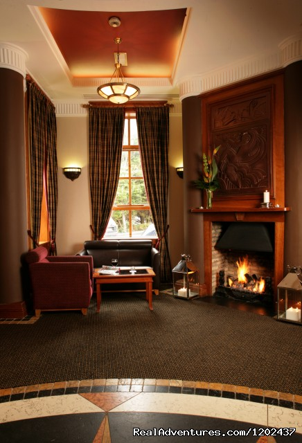 Hotel Foyer with Open Fire - The Westwood Hotel