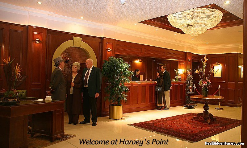 Harvey's Point Hotel, Reception
