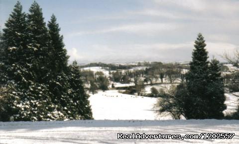 Snow scene - Corick House Hotel