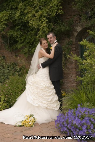 Bride and Groom - Corick House Hotel