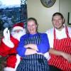 Chefs meet Santa 2010