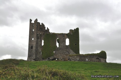 Ballycarbery castle - Sea Breeze