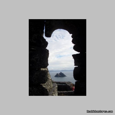 Window on Skelligs (#4 of 15) - Sea Breeze