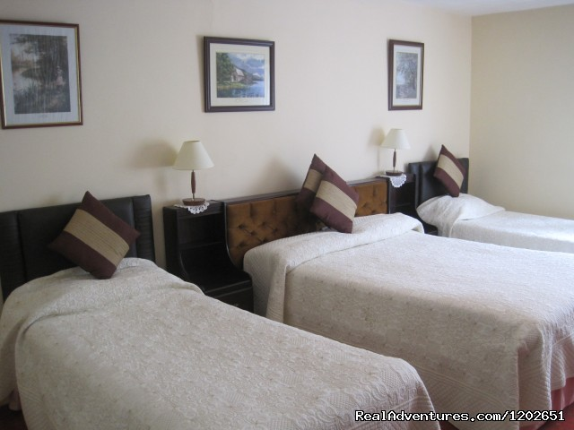 Triple Room - White Heather Farmhouse