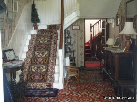 Hall and stairs - Smithfield House