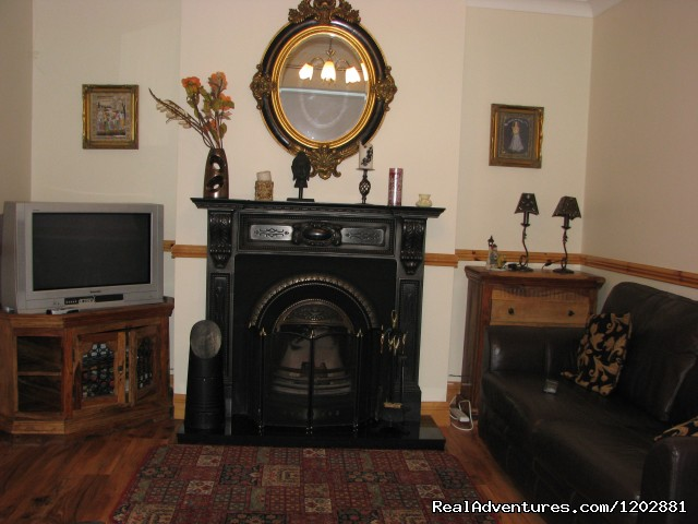 Riverside self-catering, sitting room - Riverside Self Catering. Ideal for fishing holiday