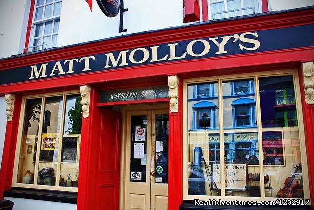 Matt Molloy's pub - Bertra House