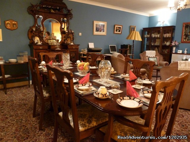 Dinning Room - Dalys B&B - A very warm welcome awaits at Dalys B