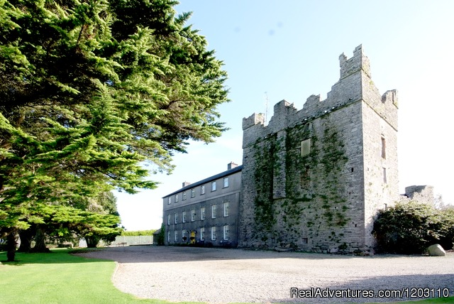 Killiane Castle: Killiane Castle (front of House)
