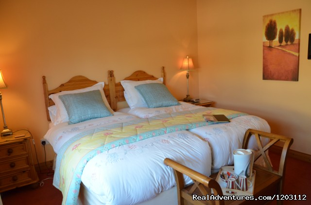 Twin Room En-suite - Relax, Enjoy, Superb Hospitality at Birchwood Hous