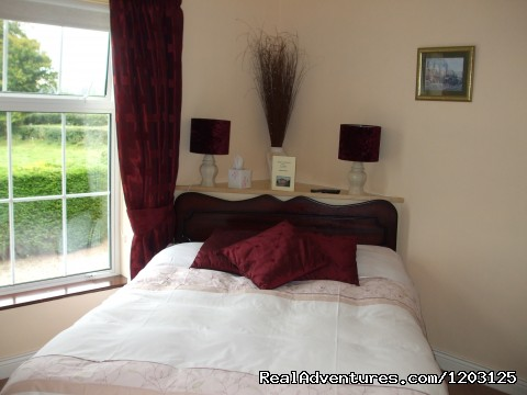 Double bedroom at Keppel's Farmhouse, Avoca - peace and relaxation in restful Keppel's Farmhouse