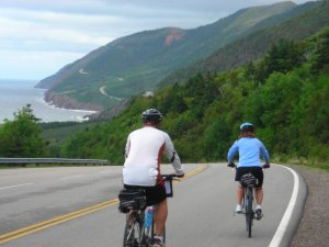 Cycle the Cabot Trail with Freewheeling Adventures Cape Breton, Nova Scotia Bike Tours