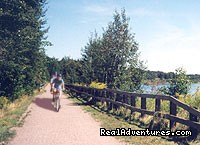 Cycling the Confederation Trail, PEI - MacQueen's Island Tours
