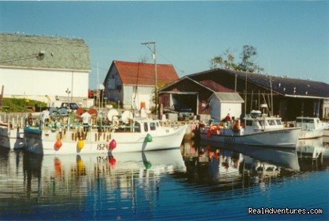 PEI fishing village - MacQueen's Island Tours