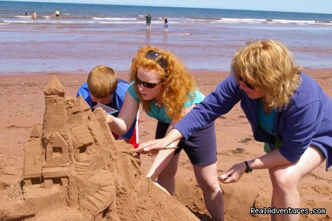 Sensational Sandcastles - Experience PEI-unique hands-on learning adventures