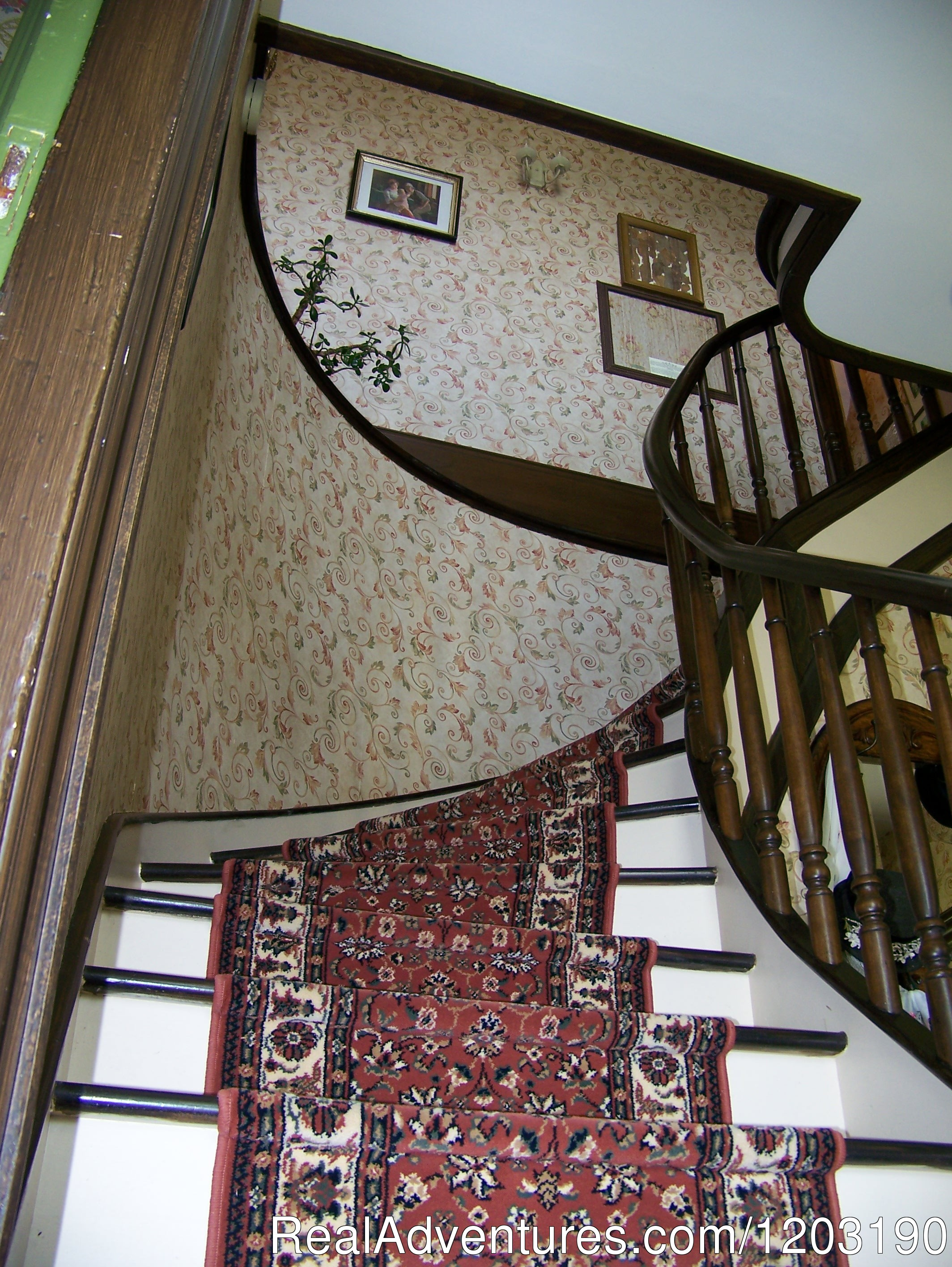 Curved staircase | Image #4/5 | Bideford Parsonage Museum