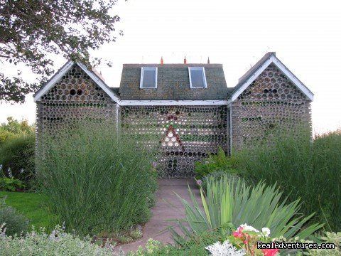 Six-gabled Bottle House - The Bottle Houses/Maisons de Bouteilles