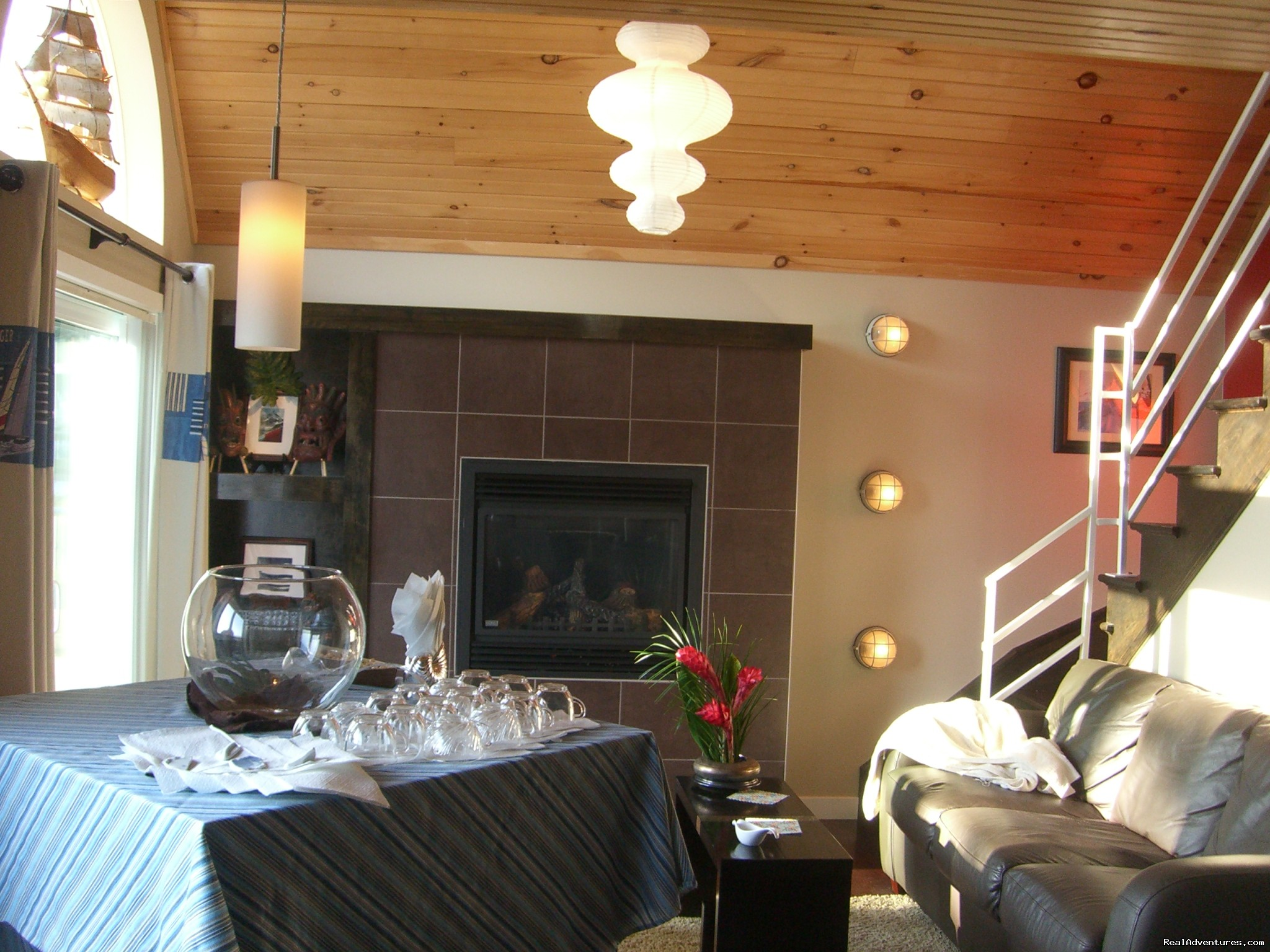 Sexy Lounge Atmosphere | Image #1/7 | Summerside, Prince Edward Island  | Vacation Rentals | Cottage 15 on the Boardwalk