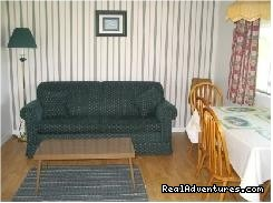 Large Livingroom in two-bedroom hsk. suite - St. Lawrence Motel - HSK Suites