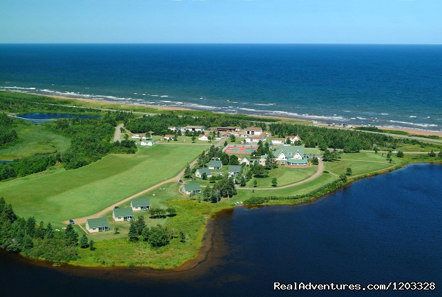 Aerial View of Dalvay property - Dalvay by the Sea Inn & Dining Room