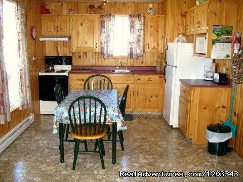 Kitchen in two bedroom cottage. - Orchard View Farm Tourist Home & Cottages