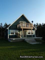 Fair Wind front view overlooking ocean - Well appointed and spotlessly clean beach house...