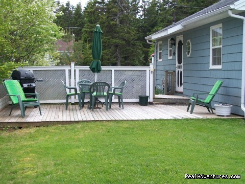 Large private deck  (#2 of 10) - Cavendish Field of Dreams Cottage