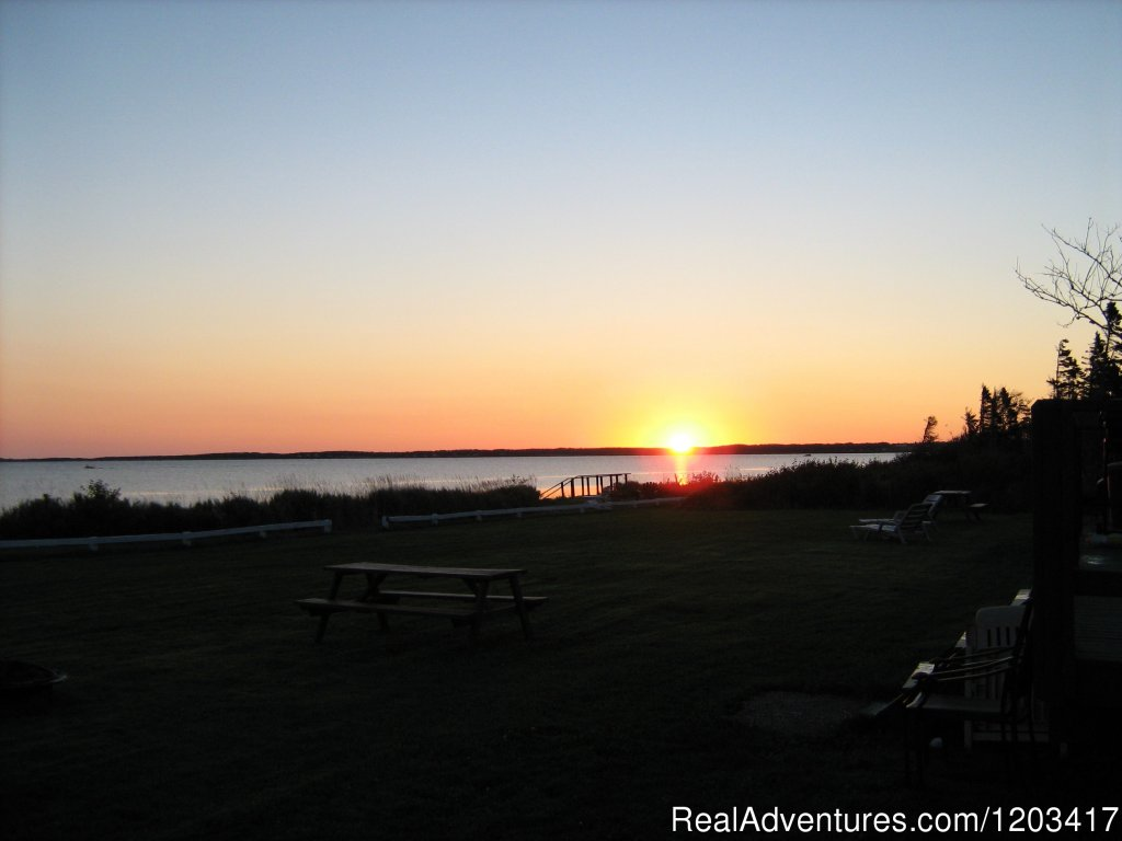 Sunrise from deck of every cottage | Image #14/25 | John B's Oceanfront Cottages
