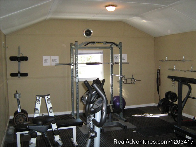 Gym - John B's Oceanfront Cottages