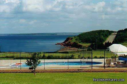 Enjoy a peaceful vacation amidst the splendour of the PEI National Park, beautiful beaches and pastoral farmland. This small resort offers the personality that larger place don't give . Nothing crowded or noisy beautiful scenery and nature . Come see