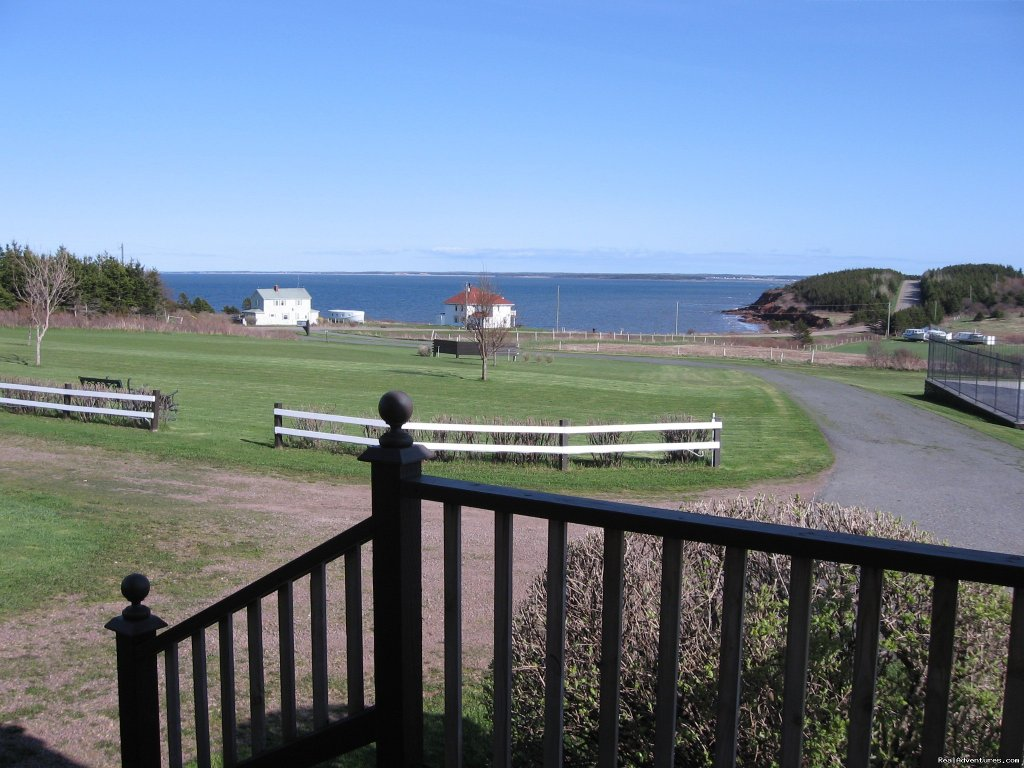 View from 1 cottage deck