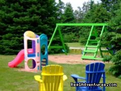 Children's Play Area - Sandpiper Cottages and Suites