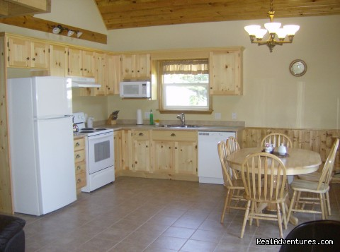 Kitchen - Stanhope Cottages Luxury Cottages PEI