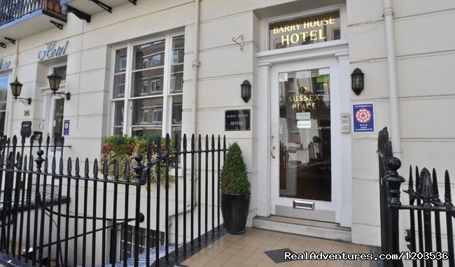 The Barry House is a London B&B hotel offering family friendly accommodation in central London, close to Hyde Park, Marble Arch and many of London's famous sights.