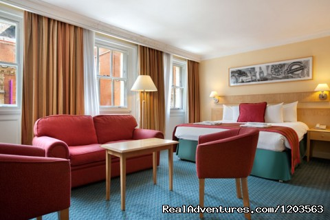 Hilton King Deluxe Room - Hilton London Euston