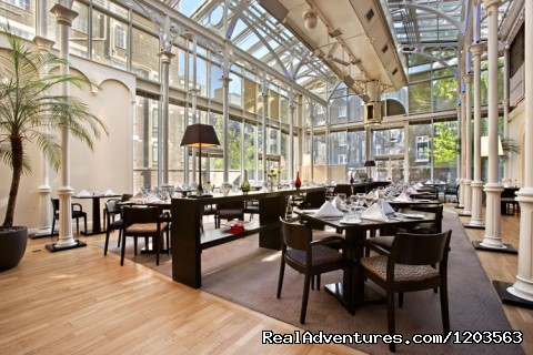 Woburn Place Restaurant - Hilton London Euston