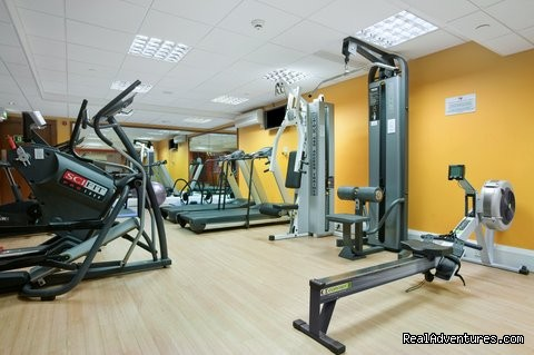 Fitness by Precor gym, sauna and steam room
