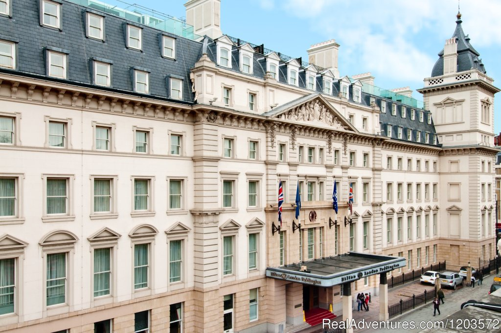 The Hilton London Paddington hotel is one of London's grandest Victorian hotels, and offers a full range of modern facilities in a fantastic location. Opened in 1854, this Art Deco hotel has 364 individually crafted guest rooms, including 28 suites