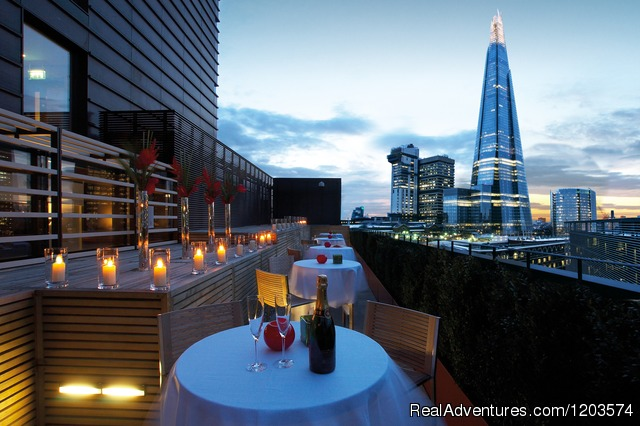 Rooftop Terrace - Hilton London Tower Bridge
