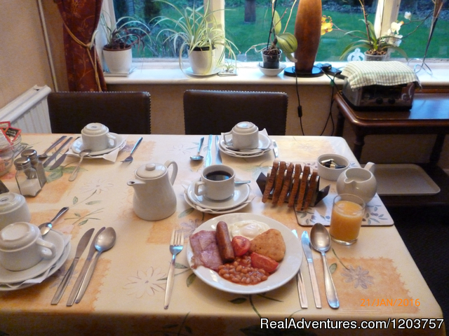 Full English breakfast included - Grange Lodge Hotel - B&B