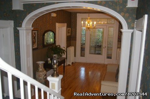 Main foyer, elegant and bright... - The Dawson House... Truly intriguing