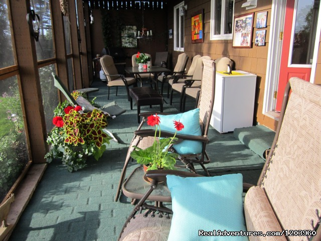 Outdoor seating/dining - Obanbrae Farm Bed & Breakfast