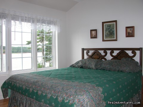 Bedroom  - Three Gables Waterfront Carriage House