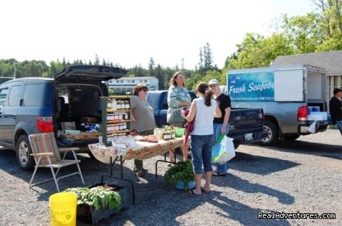 Cardigan Market - apprix 15 minutes away  - Riverside Chalets