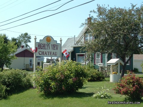 Our property front - Highlyn View Chateau - Clean,comfortable cottages