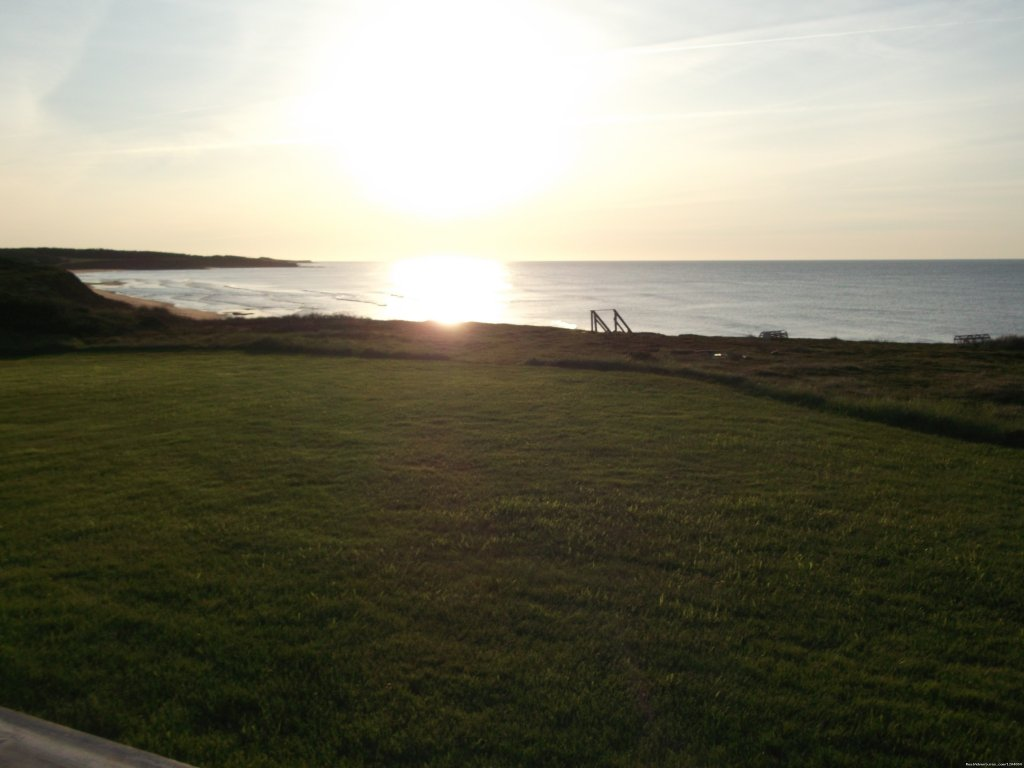 Privacy is priority. 1km to nearest dwelling, 100m to white sandy beach. beautiful sunrise/sunsets from our deck. minutes to confederation trails, basin head deepsea/trout fishing, golf (brudenell river, links at crowbush only 30-45 minutes away)