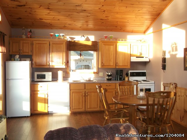 Kitchen - Paradise Haven Cottage